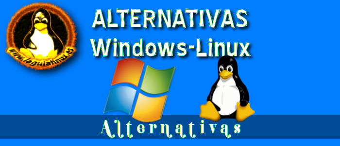 Equivalencias Ofimática y Negocios linux y windows