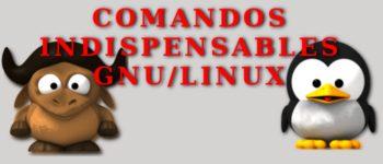 Comandos indispensables para Linux