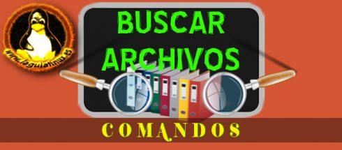 Comandos para Buscar Archivos el terminal de Linux