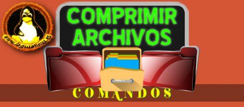 Comprimir archivos y directorios en Linux