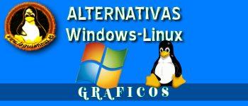 Equivalencias de software Gráfico y Multimedia entre linux y windows
