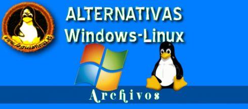 Equivalencias Trabajar con Archivos en Linux