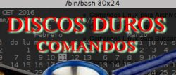 Espacio discos duros comandos