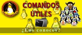 Comandos útiles sobre Linux