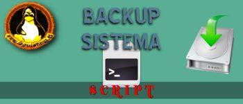 Script crear Backup del Sistema Completo