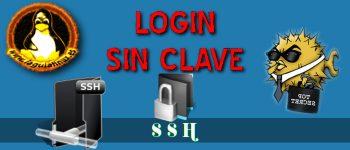 Autentificación transparente sin pedir contraseña por ssh
