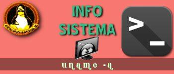 Obtener información del sistema con el comando uname