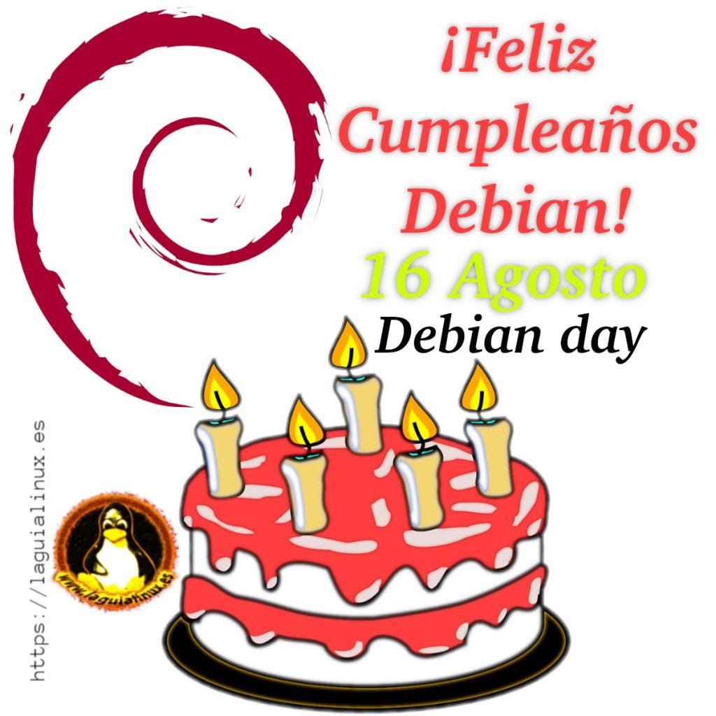 Debian Day Cumpleaños debian